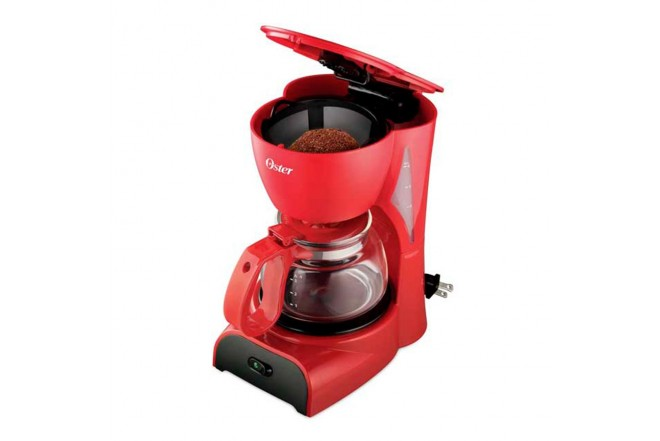Cafetera OSTER 4 Tazas DR5R Rojo2