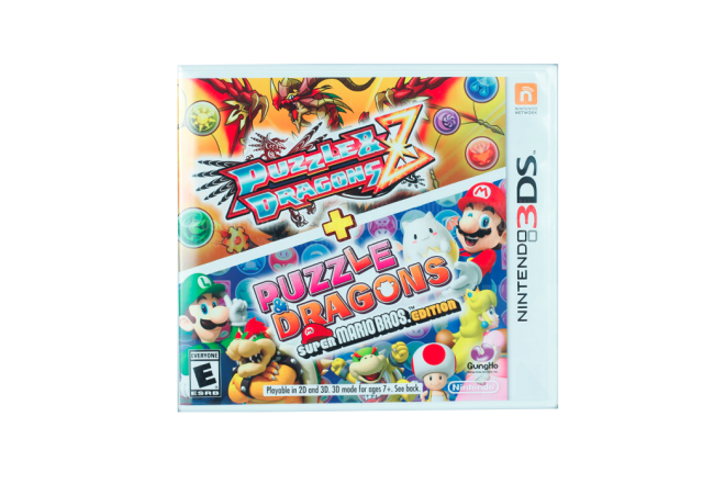 Video Juego NINTENDO 3DS Puzzle & Dragons Z & Super Mario Bros Edition