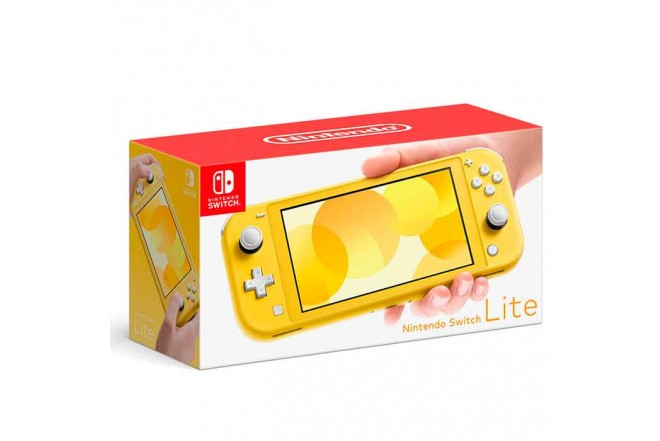 Consola Switch Lite Yellow 1