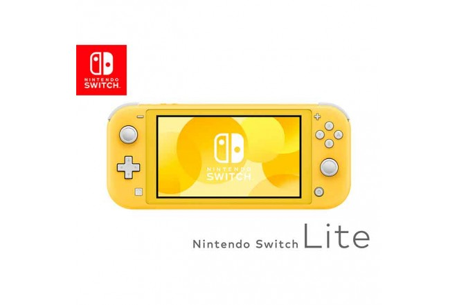 Consola Switch Lite Yellow 2