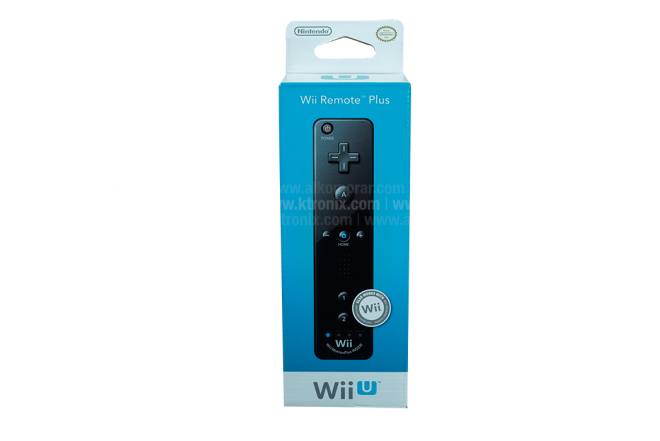 Control NINTENDO Wii Remote Plus Black