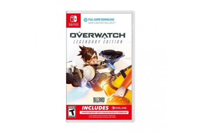 Juego SWICTH Overwatch