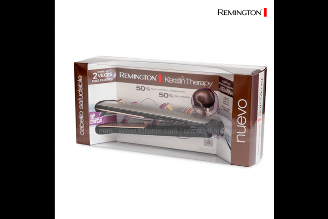 Plancha REMINGTON S8590 Keratina