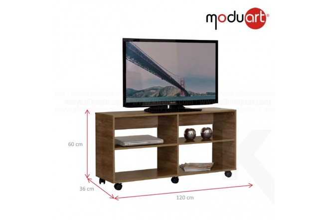 Mesa TV MODUART 15172-76 Avellana
