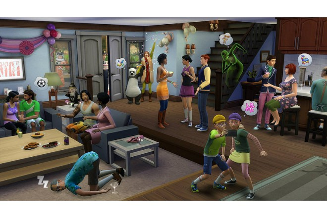 Videojuego PS4 The Sims 4-d