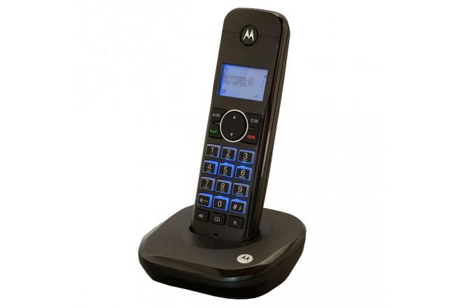 Teléfono inalámbrico MOTOROLA M 500 ID Negro