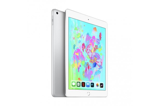 "iPad 9.7""  WiFi  128GB Plata 6ta generación"