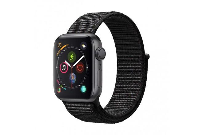 Reloj APPLE WATCH S4 GPS 40M Gris - Negro Sport Loop