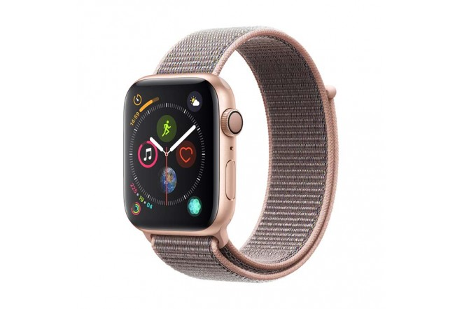Reloj APPLE WATCH S4 GPS 40M Oro Correa Loop Deportiva Rosado