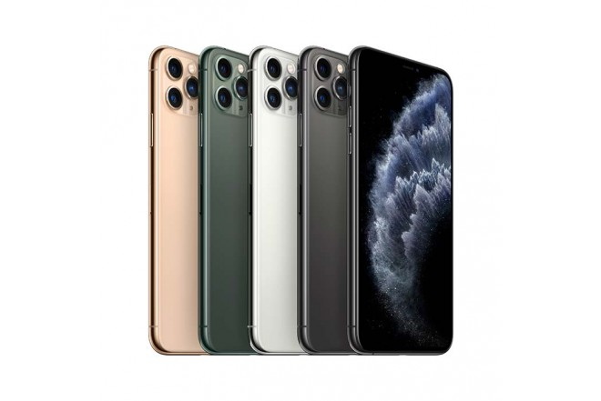 iPhone 11 Pro Max 64GB Plata5