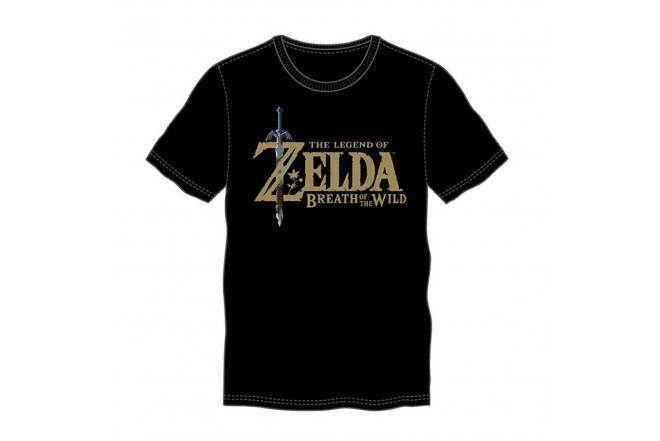 Camiseta ZELDA Black Soft Talla L