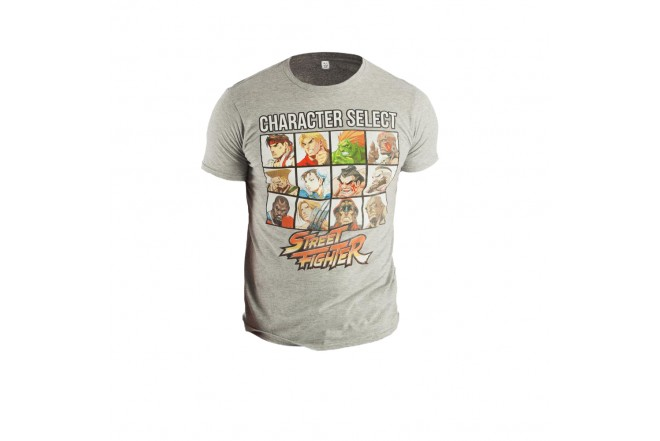 Camiseta STREET FIGHTER All Icons Talla S