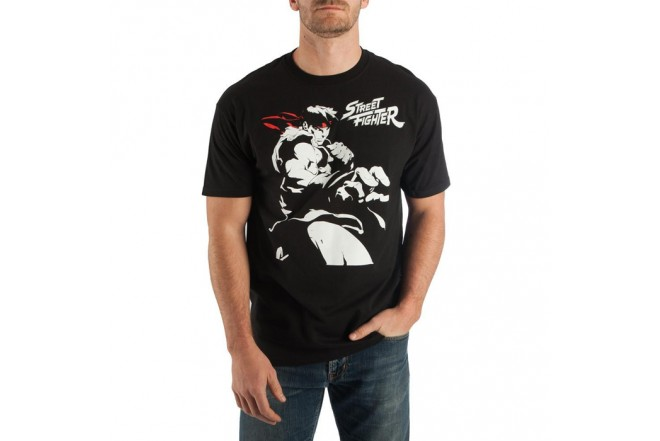 Camiseta STREET FIGHTER Negro Talla S