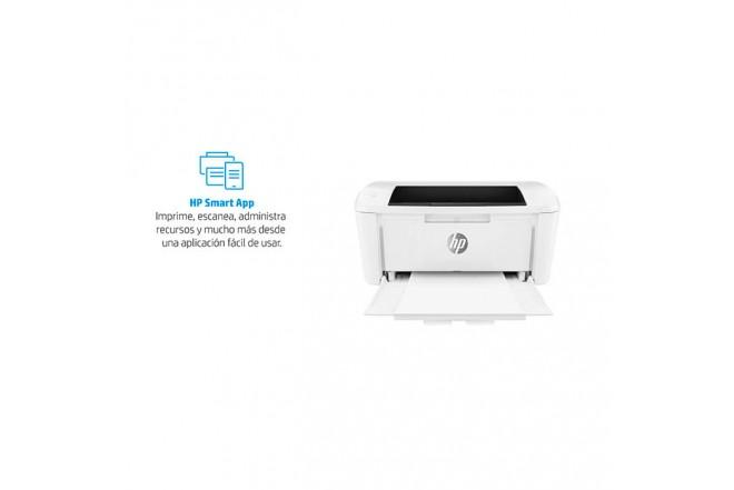 Impresora Laser HP M15w Blanco8