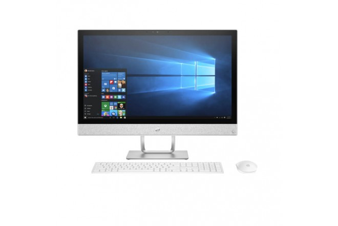 "PC All in One HP - 24-r002 - Intel Core i7 - 23.8"" Pulgadas - Disco Duro 1Tb - Blanco"