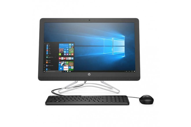"PC All in One HP - 24-E003 - AMD A9 - 23.8"" Pulgadas - Disco Duro 1Tb - Negro"