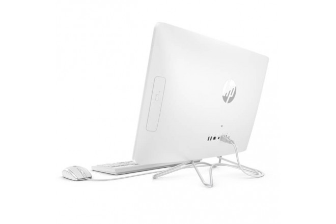 """PC All in One HP - 24-e002la - AMD A9 - 23.8"""" Pulgadas - 1Tb - Disco Duro 1Tb - Blanco"""