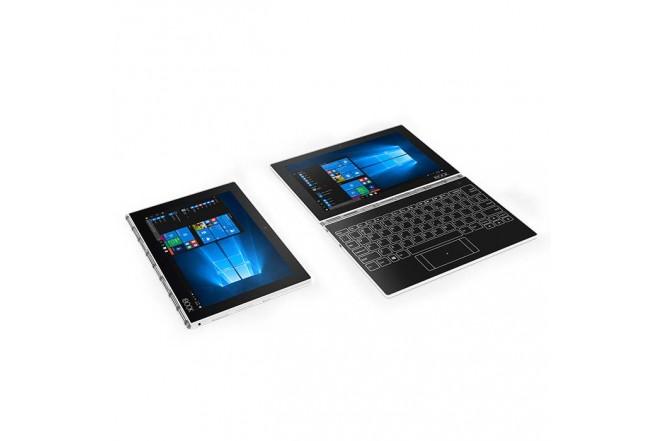 """Convertible 2 en 1 LENOVO - YOGA BOOK - Intel Atom - 10.1"""" Pulgadas - Disco Duro 128Gb - Blanco"""
