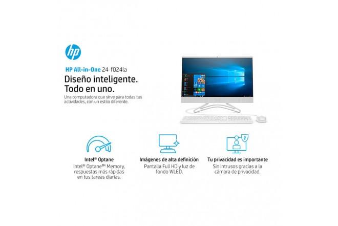 """PC All in One HP - 24-F024la - Intel Core i5 - 23.8"""" Pulgadas - Disco Duro 1Tb - Blanco8"""