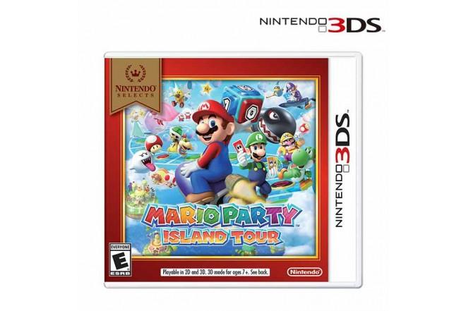 Videojuego NINTENDO 3DS Mario Party Island Tour Select