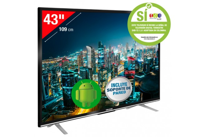"Tv 43"" CHALLENGER 43T18 Full HD Android"