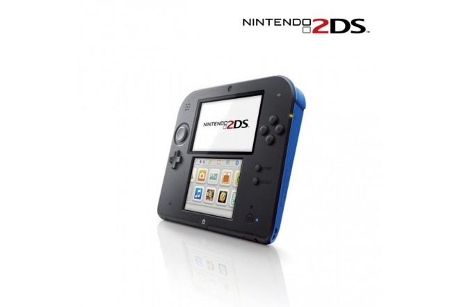 Consola NINTENDO 2DS Azul Mario Kart 7 + NFC + Amiibo