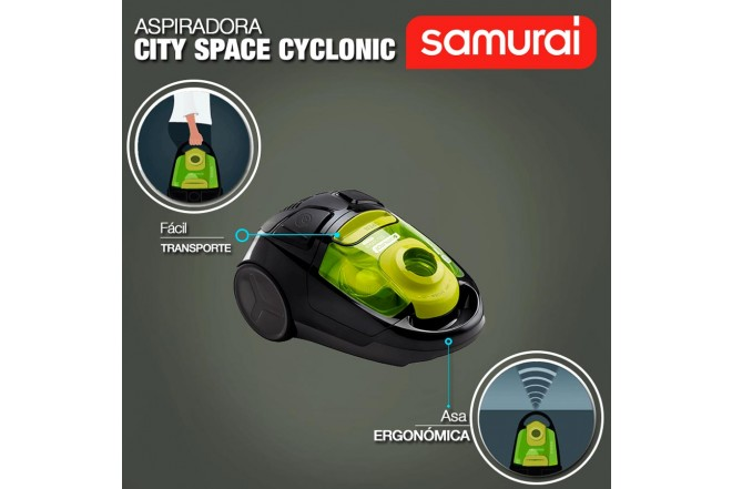 Aspiradora IMUSA City Space Cyclo