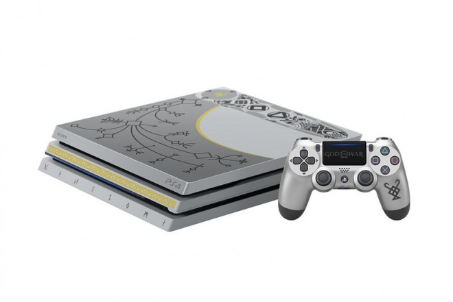 Consola PS4 Pro 1TB con Videojuego God of Wa-4
