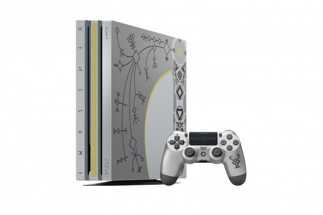 Consola PS4 Pro 1TB con Videojuego God of Wa-2