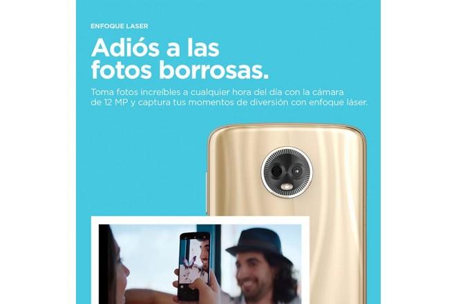 Celular Libre MOTOROLA E5 Plus Gris DS 4G