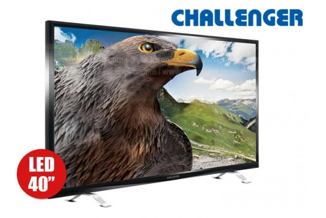 "Tv 40"" 101 cm LED CHALLENGER 40D27 Full HD Internet"