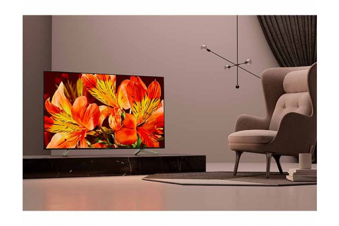 "TV 55"" 138cm SONY 55X757F 4K UHD Internet"