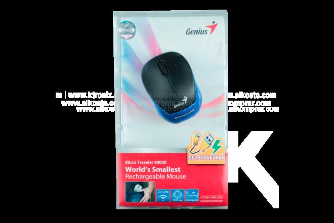 Mouse GENIUS Inalámbrico Óptico 9000 R Azul
