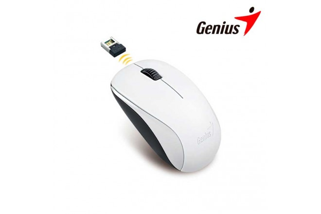 Mouse GENIUS Inalámbrico USB NX7000 Blanco