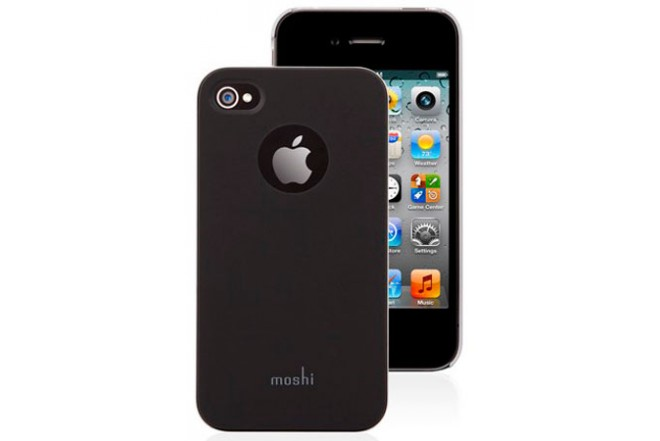 Funda MOSHI Negra para iPhone 4