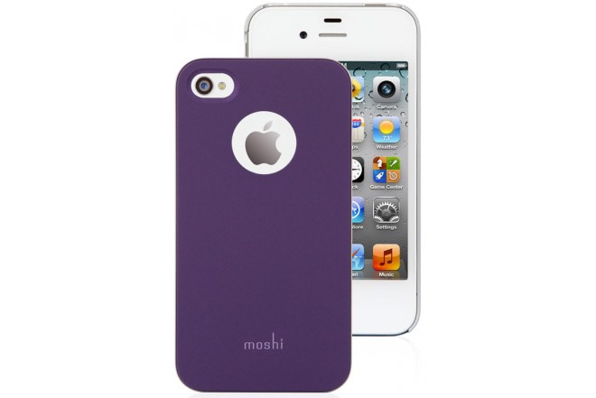 Funda MOSHI Purpura para iPhone 4