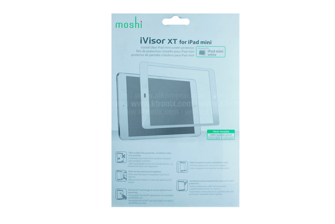 Protección Visor XT MOSHI iPad mini Blanco
