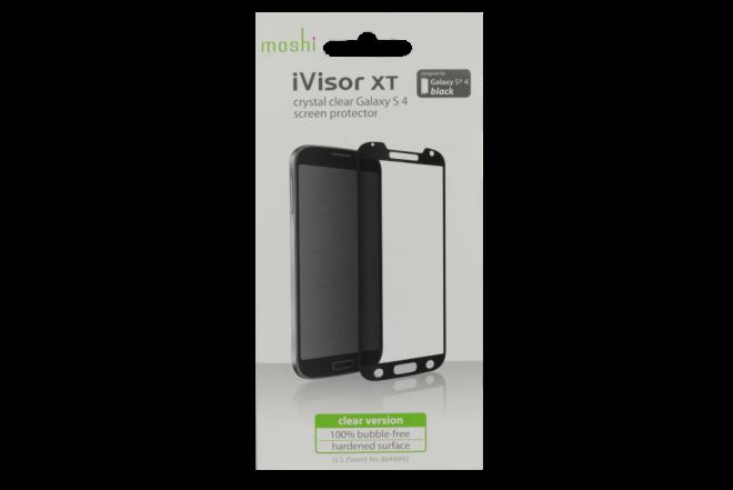 Protector de Pantalla iVisor XT Samsung Galaxy S4 MOSHI Negro (Accesorios)