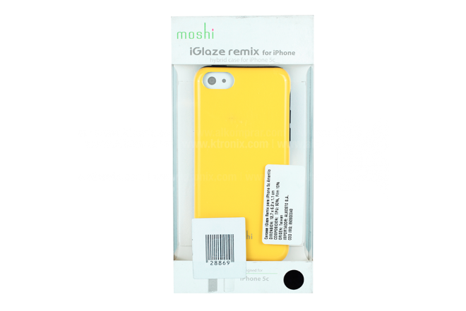 Carcasa iGlaze Remix MOSHI iPhone 5c Amarillo