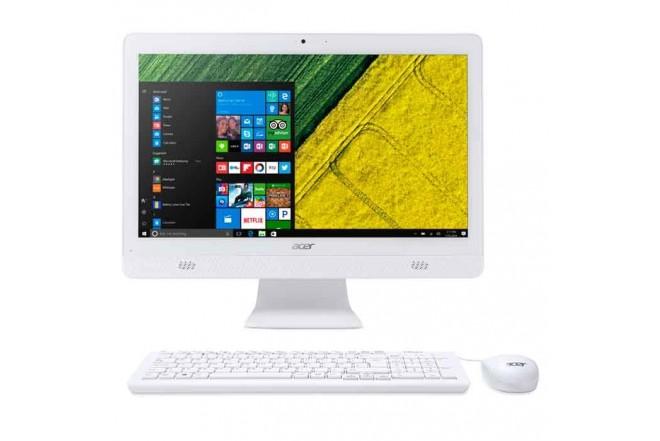 """PC All in One ACER - AC20-720-SR11 - Intel Celeron - 19.5"""" Pulgadas – Disco Duro 1Tb - Blanco"""
