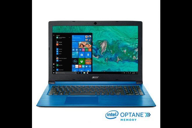 "Portatil ACER A315-53-3415 Intel Core i3 15.6"" Pulgadas +16GB Intel Optane Disco duro 1 TB Azul 1"