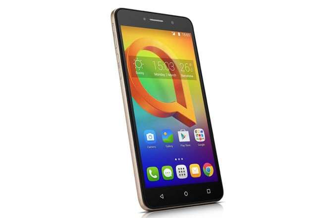 Celular Libre ALCATEL A2XL 3G DSDorado + Banda