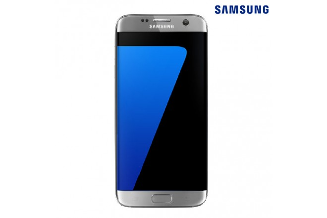 Celular Samsung S7 + Cargador + SD32 Plata
