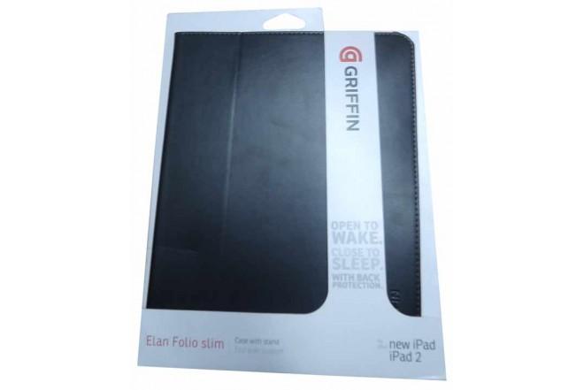 Funda GRIFFIN Elan Negra para iPad3