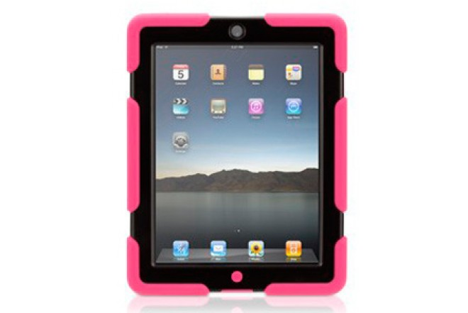 Funda GRIFFIN Survivor Rosa para iPad3