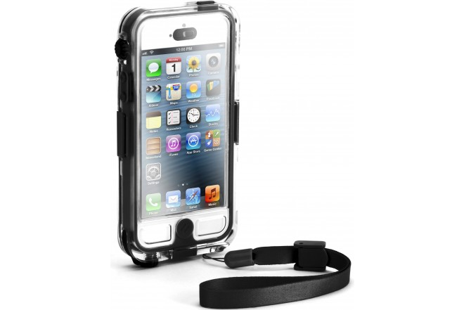 Funda GRIFFIN Survivor Water negra para iPhone 5