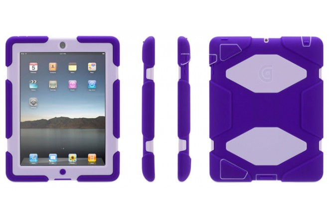 Funda GRIFFIN Survivor iPad Mini Purpura