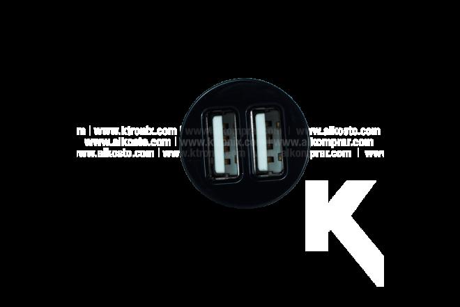 Cargador Auto GRIFFIN Univ-micro Dual Negro