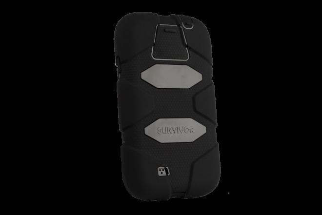 Funda GRIFFIN Survivor Samsung Galaxy S4 Negro (Accesorios)