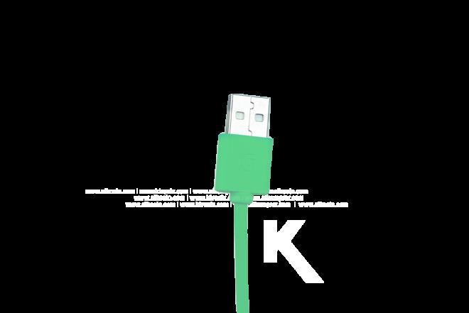 Cable Lightning GRIFFIN 90 cm Verde